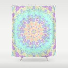 Rainbow  Kaleidoscope Shower Curtain