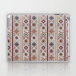 Caucasian Rugs(Stripe) - White Laptop & iPad Skin