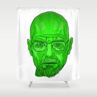heisenberg Shower Curtains featuring Heisenberg by GiugDrum