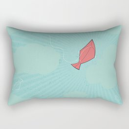 Turquoise Tranquility Rectangular Pillow