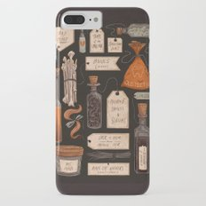 Spooky Halloween Odds and Ends Slim Case iPhone 7 Plus