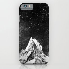 mont gore - mountain and star iPhone Case