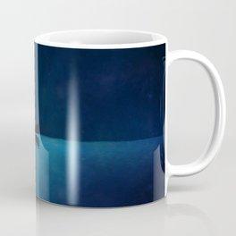 Canoe at Night Coffee Mug