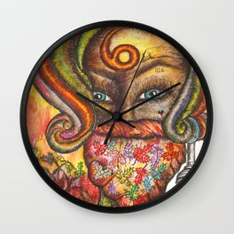 Her Name Was Jessica Wall Clock