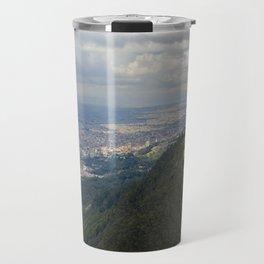 Cerro de Monserrate from on high Travel Mug