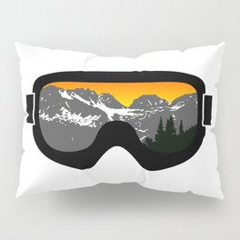 Sunset Goggles 2 | Goggle Designs | DopeyArt Pillow Sham