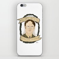 dwight iPhone & iPod Skins featuring Dwight Schrute by Rhian Davie