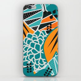 Leaf tropicana iPhone Skin