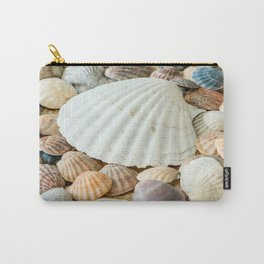 Sea Shells  -  Ocean, Sea, Nature Carry-All Pouch