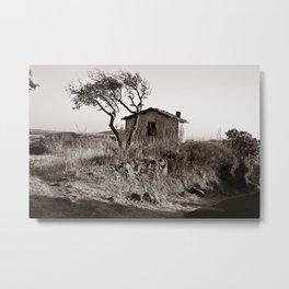"Abandoned Farmer Village - Sardinia - ""VACANCY "" zine  Metal Print"