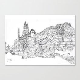 Marjan Split Canvas Print