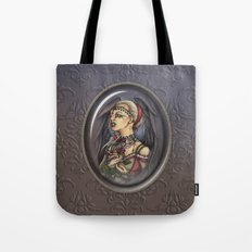 Marooned - Gothic Angel Portrait Tote Bag