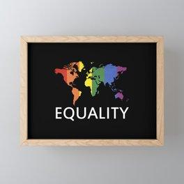 Equality Framed Mini Art Print