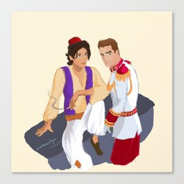 Ziam Princes Canvas Print