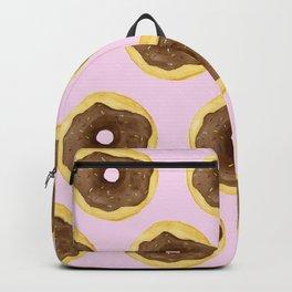 Donut Pattern - Pink Backpack