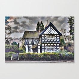 Tudor Home Canvas Print