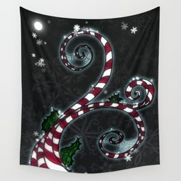 Candy Cane Vine Wall Tapestry