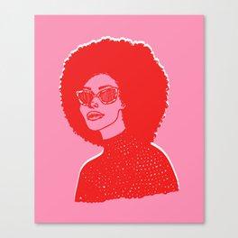 Kara Pink Canvas Print
