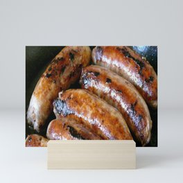 Sausages Mini Art Print