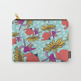 Happy Flora Carry-All Pouch