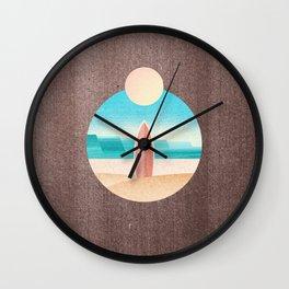 LANDSHAPES / Surfers Paradise Wall Clock