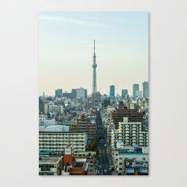 Tokyo Skytree - skyline Canvas Print