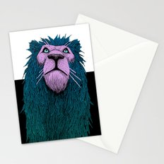 Lion Bust Stationery Cards