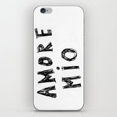 AMORE MIO iPhone & iPod Skin