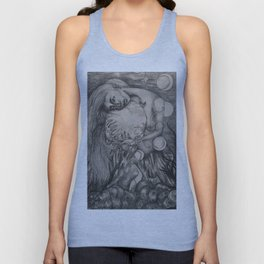 To the Moon and Back  Unisex Tank Top