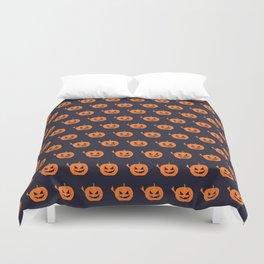 Pumpkin Spice Duvet Cover