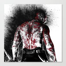Drax the Destroyer Canvas Print