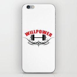 Willpower iPhone Skin