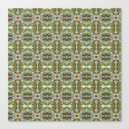 Coleus Leaves Pattern Canvas Print