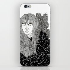 I Am Not A Cat Person iPhone & iPod Skin