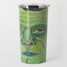 Alternative Frankenstein Travel Mug