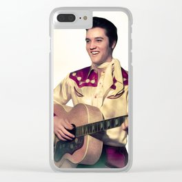 Elvis Presley, The King Clear iPhone Case
