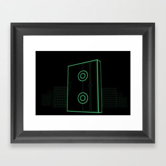 VHS NYC Framed Art Print