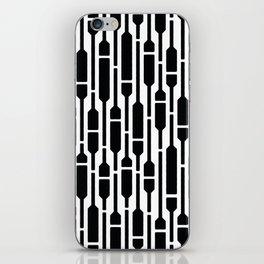 Spells - Geometric Pattern (Black) iPhone Skin