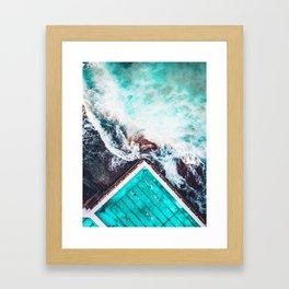 Sydney Bondi Icebergs Framed Art Print