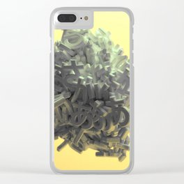 Learn Your Hiraganas Clear iPhone Case