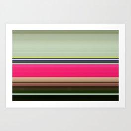 Stripes 74 Art Print