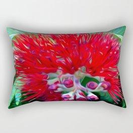 Liko Lehua - Budding Lehua Blossom Rectangular Pillow
