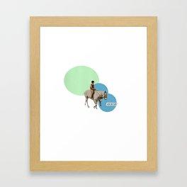 Heroic Framed Art Print