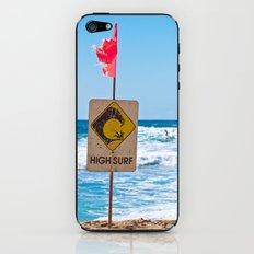 High Surf iPhone & iPod Skin