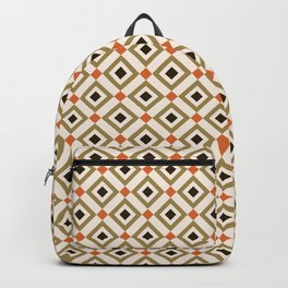 Abstract Geometrical Pattern Backpack