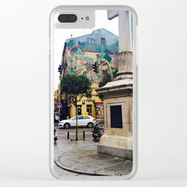 Plaza Sol Clear iPhone Case