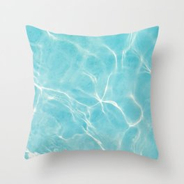 Pool Dream #5 #water #decor #art #society6 Throw Pillow