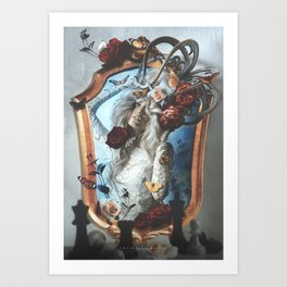 The White Queen Art Print