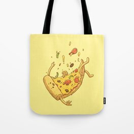 Pizza fall Tote Bag