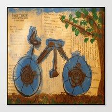 Riding Through Life Canvas Print